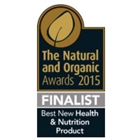 The Natural and Organic Awards: Finalist – Best New Health & Nutrition Product 2015