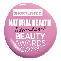 Natural Health Magazine 2019:  Short listed  – International Beauty Awards : Best Beauty Product 2019